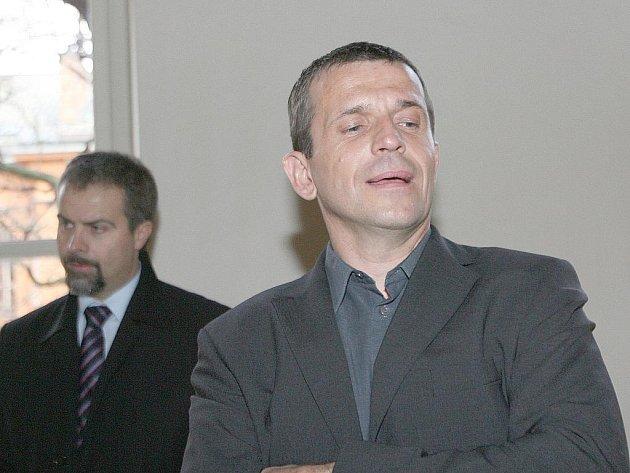 Tomáš Hrdinka u soudu v Brně.