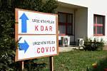 Laboratoře v Dětské nemocnici FN Brno, kde se testují vzorky na covid-19. Ilustrační foto