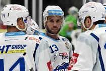 Brno 1.11.2019 - domácí HC Kometa Brno v bílém proti BK Mladá Boleslav