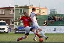 Čeští reprezentanti do 21 let v malém fotbalu na mistrovství Evropy v Praze - zápas proti Německu.