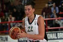 Basketbalistky Friska Sika Brno porazily v Evropské lize na domácí půdě polskou Gdyni 83:72.