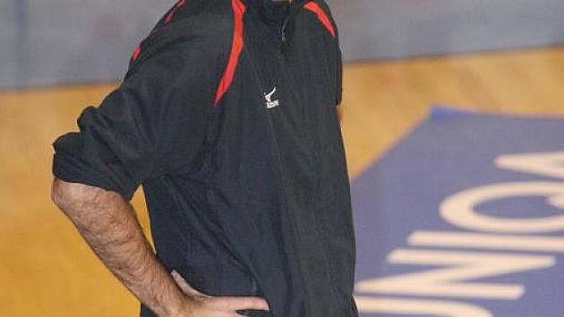 Bývalý trenér brněnských volejbalistů Martin Hroch.