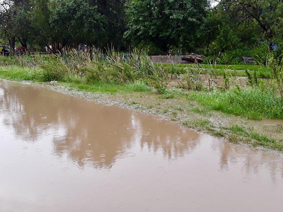 Následky páteční bouřky na Jihu Moravy.