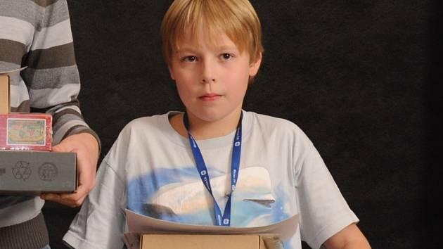 První místo v nejmladší kategorii Logické olympiády vybojoval Martin Bryja z páté třídy brněnské základní školy Úvoz.