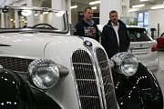Nově otevřené muzeum historických BMW v brněnské Slatině.