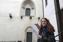 Redaktorka Brněnského deníku Rovnost Alžběta Nečasová si na vlastní kůži vyzkoušela novou naučnou stezku Šifra Špilberk.