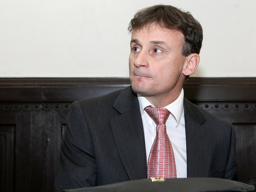 Jiří Kučera před soudem.