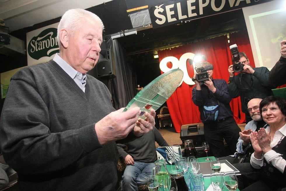 Legendární fotbalista Josef Masopust na Šelepce.