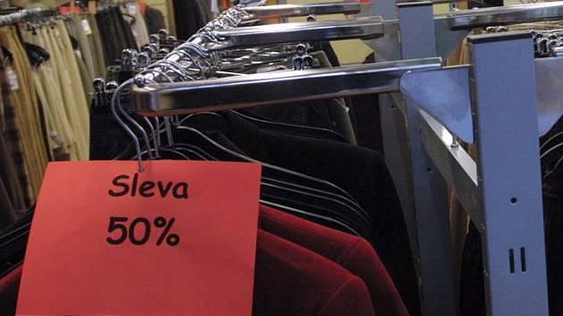 Ilustrační foto z brněnského obchodu
