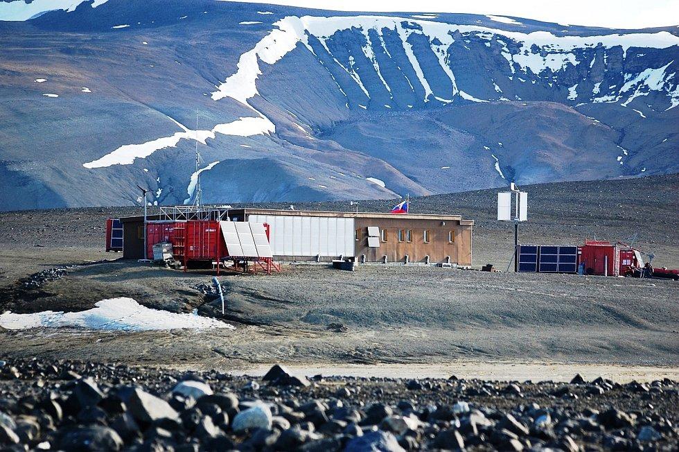 Expedie odborníků z brněnské Masarykovy univerzity v Antarktidě z roku 2017.