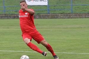 Fotbalista Petr Švancara