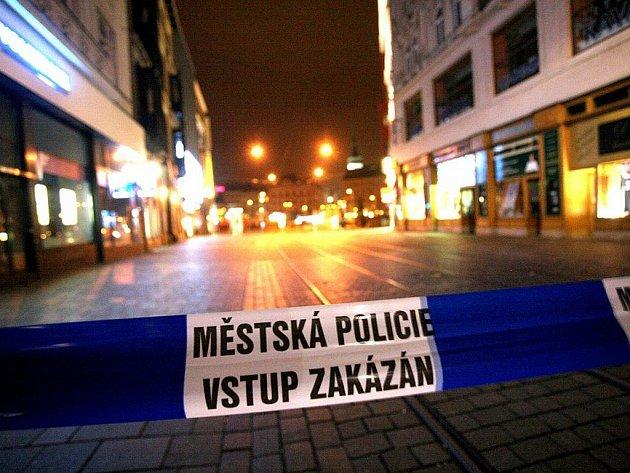 Policie hledala na náměstí Svobody dvě bomby.