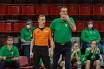 Basketbalistky KP povede třetí sezonu v řadě Dušan Medvecký.