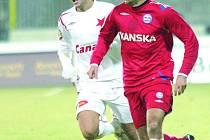 Fotbalista 1.FC Brno Tomáš Polách