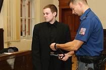 U Krajského soudu v Brně se zpovídal pětadvacetiletý Jan Eliáš.