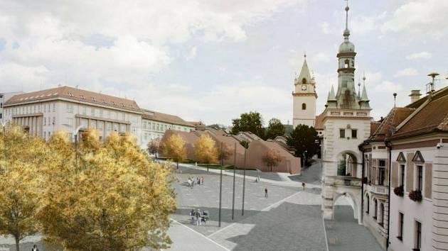 Proměna náměstí Míru v Tišnově. Podívejte se, jak bude a jak mohlo vypadat