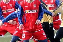 Minulou zimní přípravu strávil Tomáš Kaňa v tehdy prvoligové Zbrojovce, teď ho čeká s divizní Bystrcí.