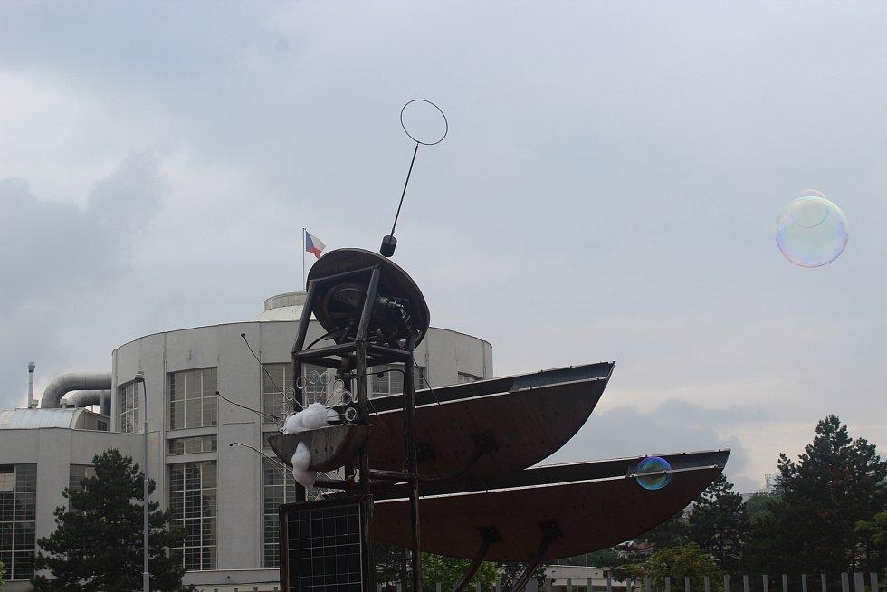 Slavnostní otevření venkovní expozice brněnského VIDA! Science Centra.