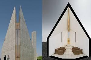 Projektovou dokumentaci ke stavbě kaple připravují architektky Petra Vorlíčková a Soňa Urbánková.