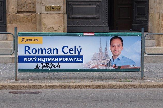 Předvolební billboard.