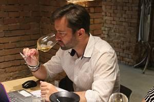 Degustace vína. Ilustrační foto