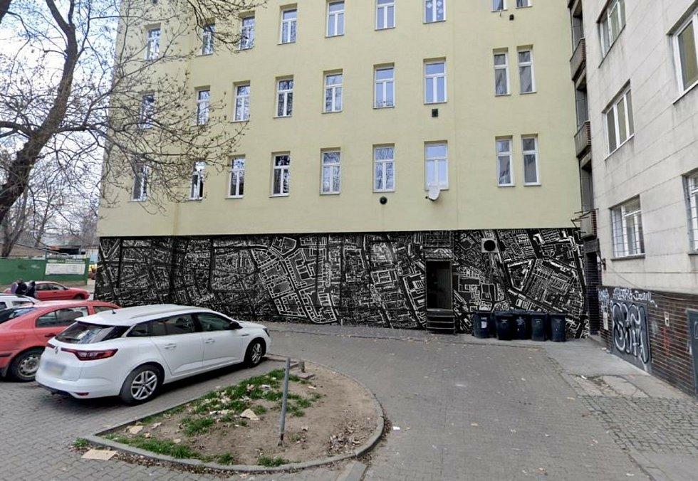 Brněnský Bronx oživí malby na zdech domů, nový mobiliář s navigací i dětské hřiště v lokalitě u ubytovny Pohoda.