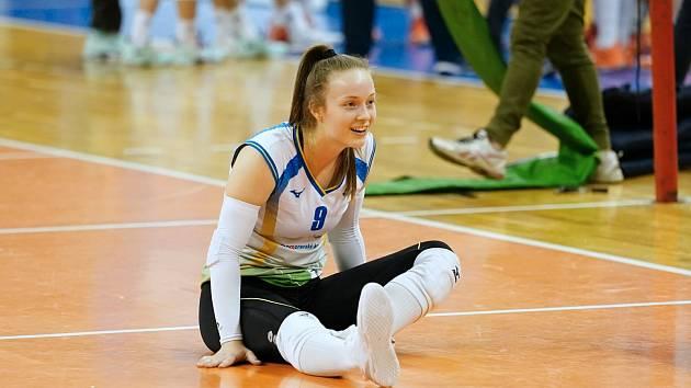 Daniela Digrinová je novou kapitánkou volejbalistek Králova Pole