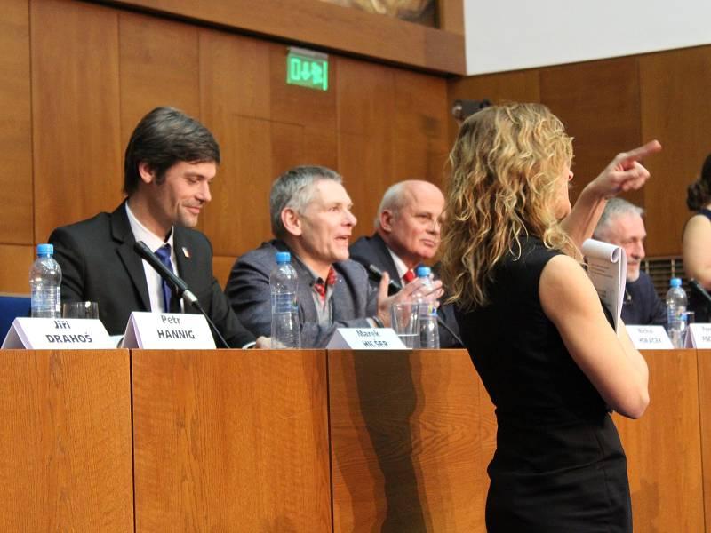 Debata prezidentských kandidátů na Právnické fakultě Masarykovy univerzity
