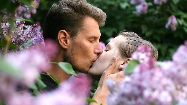 Prvomájové políbení.