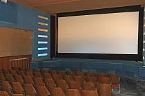 Nově modernizované kino Lucerna v Brně.