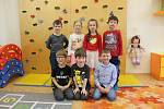 Děti ze Základní školy Rosice Zámecká - odloučené pracoviště Husova čtvrť.