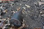 Žena při novoroční procházce našla protitankový granát