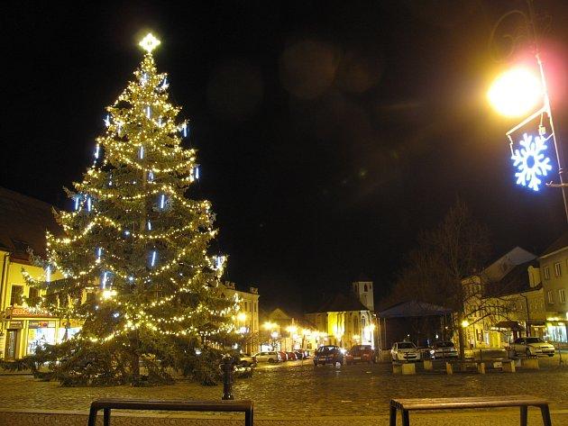 Boskovice, Masarykovo náměstí.
