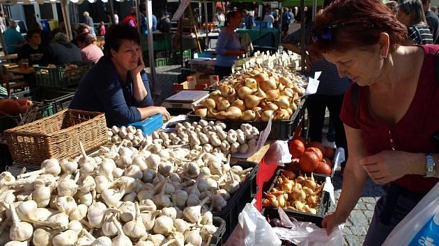 Rosické slavnosti česneku neboli Česnekovky už patří mezi tradiční akce.