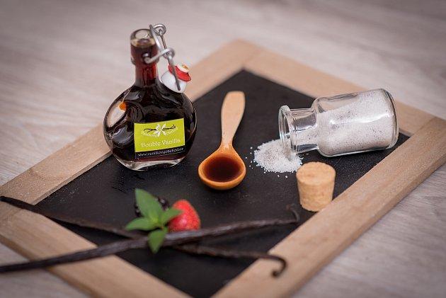 Veronika Štaudová zMoutnic na Brněnsku se specializuje na vanilku, provozuje Vanilkový obchod.