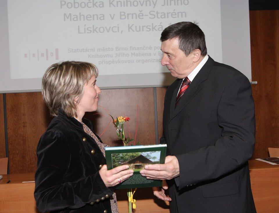 Oceněná knihovna ve Starém Lískovci.