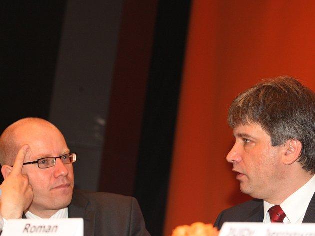 Konference ČSSD Brno