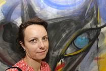 Svými obrazy se Markéta Mandelíková snaží vyvolávat dialog.