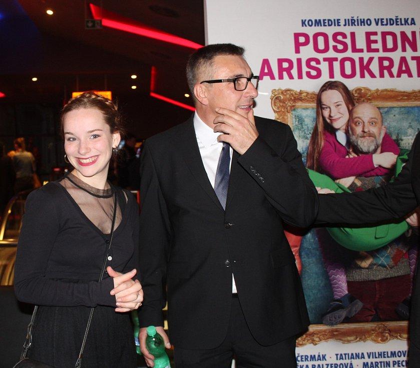 Film Poslední aristokratka v Brně při jeho premiéře představil režisér Jiří Vejdělek i představitelky hlavních rolí.