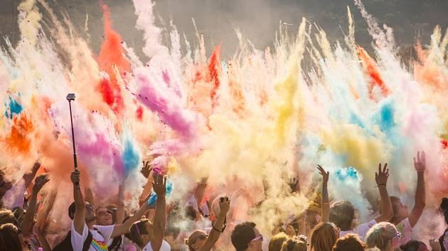 Rainbow Run. Ilustrační foto.