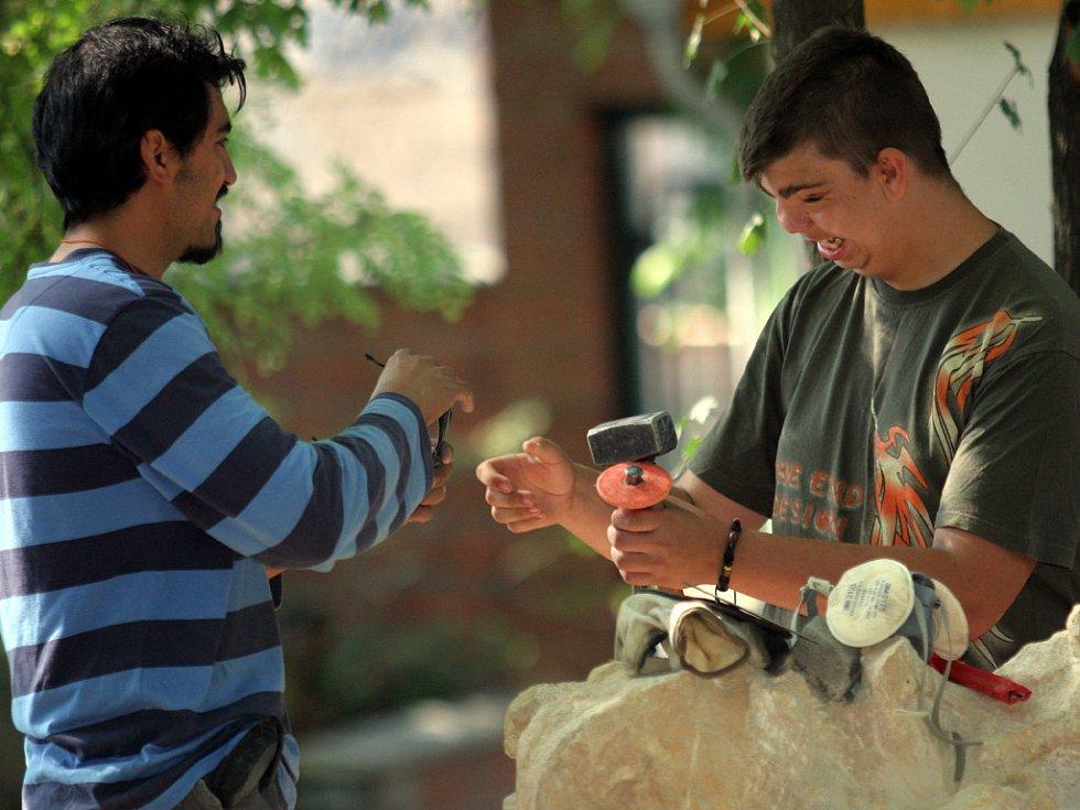 Sochaře děti z Kociánky nadchly a inspirovaly