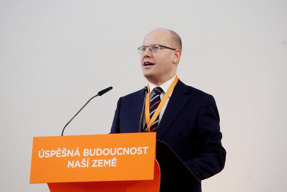 Celostátní sjezd ČSSD v Brně.