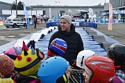 Olympijský festival v areálu brněnské výstaviště - na snímku brněnský olympionik v šermu Alexander Choupenitch.