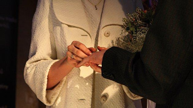 Svatební víkend na Špilberku