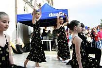 Malý tanečníci potěšili diváky v Ivančicích.