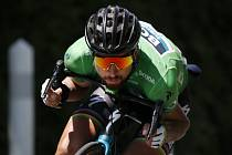 Slovenský světový  šampion Peter Sagan neochvějně míří za šestým zeleným trikotem pro nejlepšího cyklistu v bodovací soutěži.