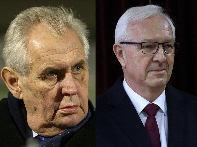V druhém kole prezidentské volby vyzve Miloše Zemana Jiří Drahoš