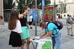 Brňané dnes mohou podepsat petici za záchranu Moravské Amazonie.