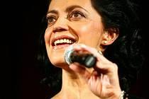 Lucie Bílá vystoupila v Divadle Šansonu v Brně – Židenicích.