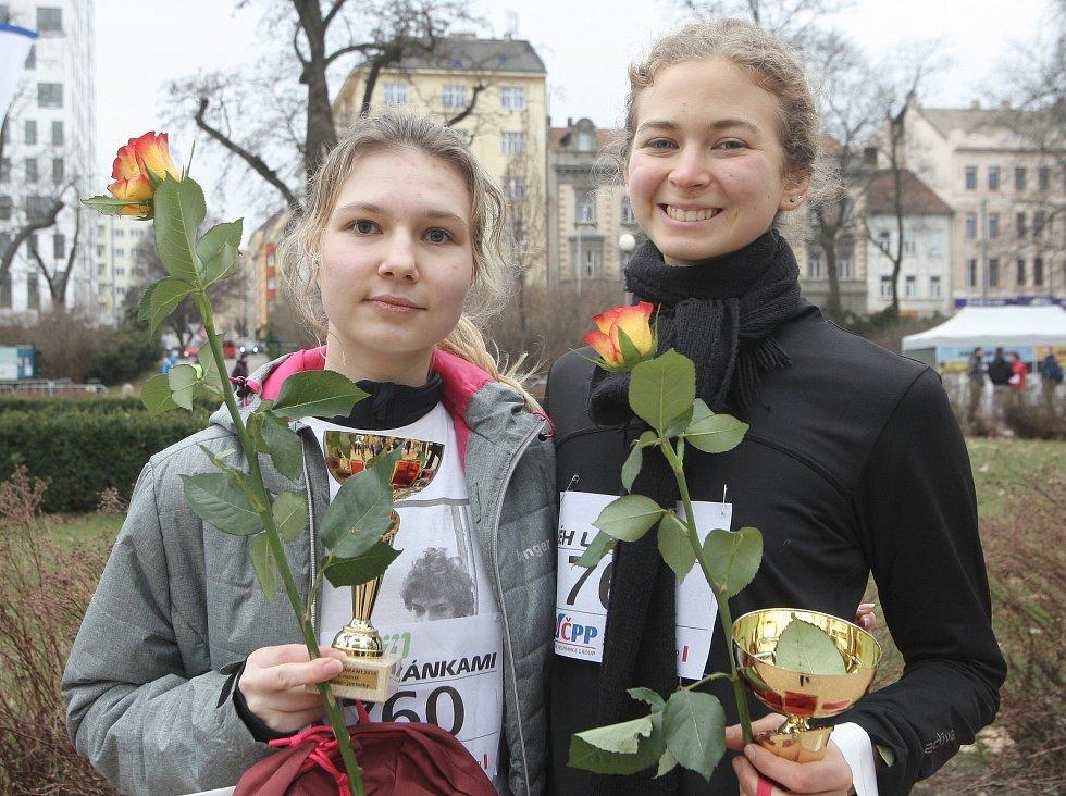 Ženskému běhu na 6220 metrů vládla šumperská atletka Eva Filipiová výkonem 23:20 minut, tři sekundy po ní proťala cíl domácí Lenka Švábíková a na třetím místě doběhla brněnská Lenka Jančaříková s časem 25:06 minut.